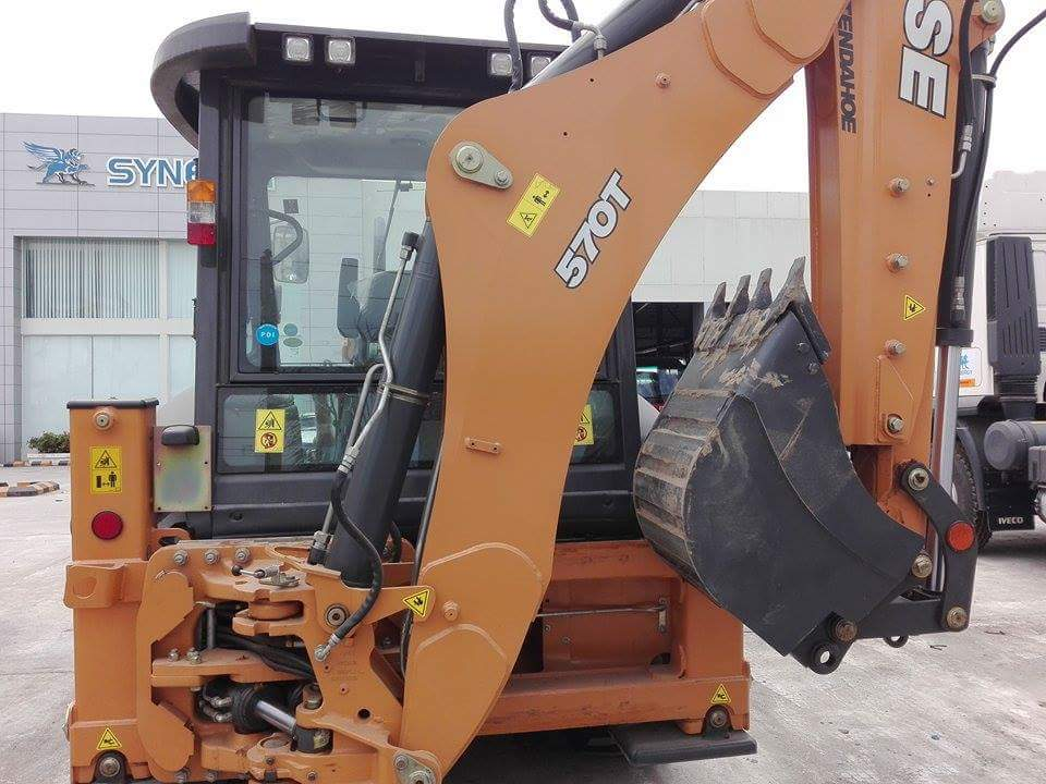 CASE Backhoe Loader-TMT-1